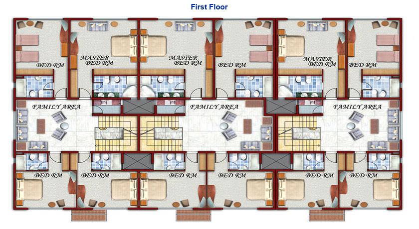 28 compound floor plans makarem compound floor plan for Compound house plans