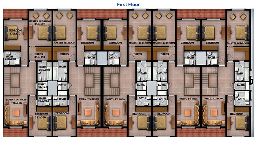 BORNEO COMPOUND - Floor Plan